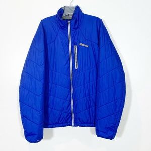 Marmot Quilted Full Zip Winter Insulated Nylon
